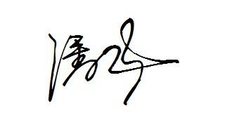 """设计""""潘飞""""的艺术签名图片"""