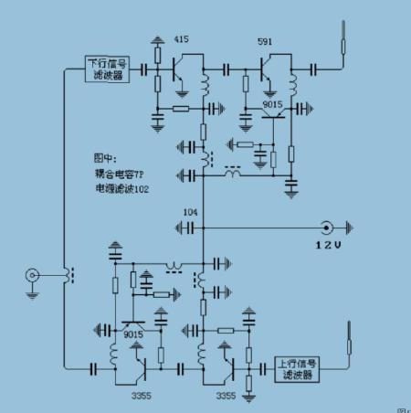 求助解电路图,是一个信号放大器的,图片