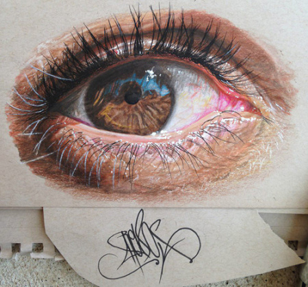 一只眼流泪的图片,不要真人也不要漫画,,算起素描吧,不过眼睛里有点
