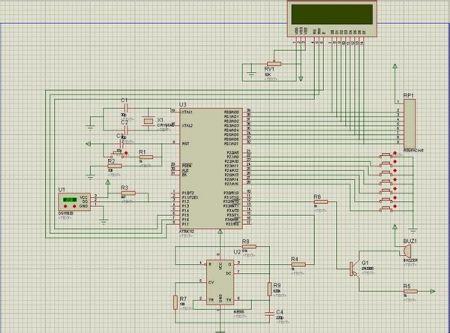 10 2011-05-20 谁有电子万年历的c语言程序?使用at89s52单片机,ds1.图片