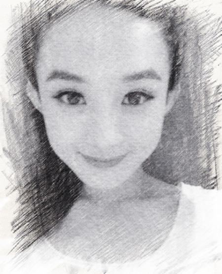 赵丽颖的眼睛用素描怎么画图片