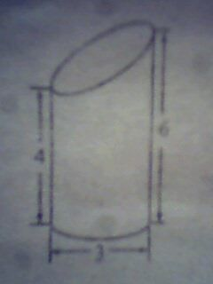 一个圆柱体高4分米,底面半径2分米,把它的底面分成许多相等的扇图片