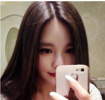 适合圆脸女生的长发发型 怎样扎头发简单好看图片