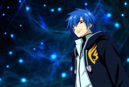 蓝色头发的动漫美男!图片