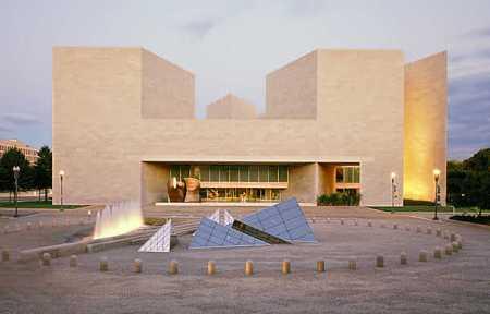 美国国家美术馆东馆立面图图片