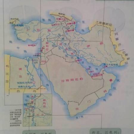 中东地区有哪些国家和地区 中东包括哪些国家阿拉伯半岛