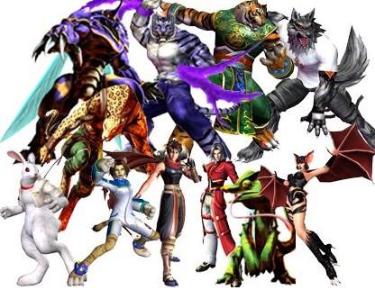 求一格斗游戏,可选人物与动物有关图片