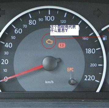捷达仪表盘上的图标代表什么意思图片