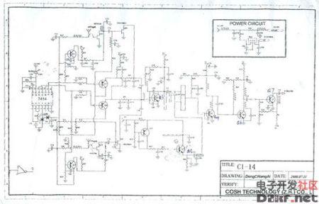 建筑施工电路囹�)�c_c波段高频头电路图