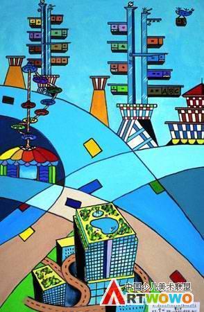 初中 科幻画图集 初中素描科幻画 初中彩铅宇宙科幻画图片