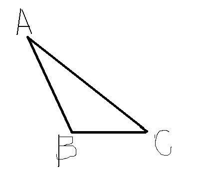已知钝角三角形abc,ab≠ac,试画出△abc边上的中线和高线,然后判断图片