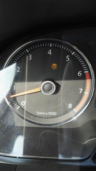 大众朗逸这个指示灯什么意思?图片