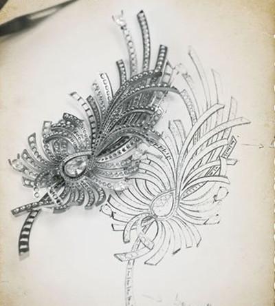 DownLoad CC卡美珠宝灵珑系列七夕全新--首饰设计手稿素描图 套