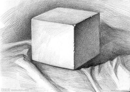 石膏几何体素描 石膏几何体素描教程 石膏几何体素描图片图片