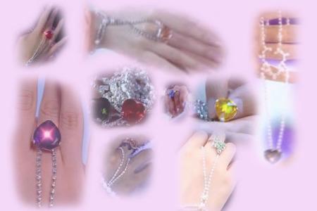 欢天喜地七仙女的灵石从哪买_戒指手链演出配饰欢天喜地七仙女灵石手链爱