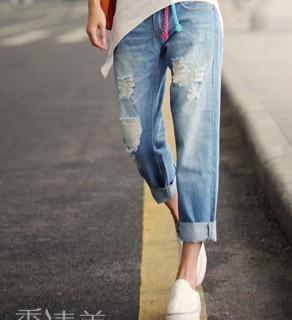 腿粗的女生适合穿这种裤子吗