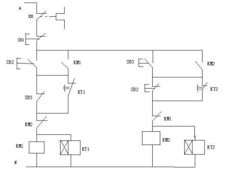 一个简单的电路图图片