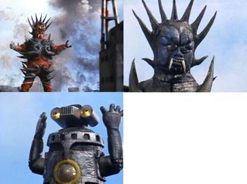 雷欧奥特曼第1集三个怪兽如果是泰罗奥特曼打会怎么样