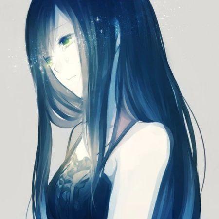动漫少女笑着哭【不要面码】要唯美
