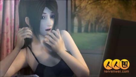 网上看见一虚拟美女不知道叫什么