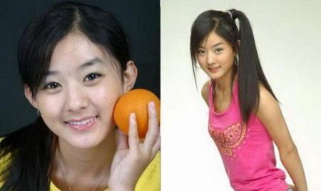 左边那张赵丽颖像哪个韩国明星?我第一眼就觉得像谁可是想不起来了!图片