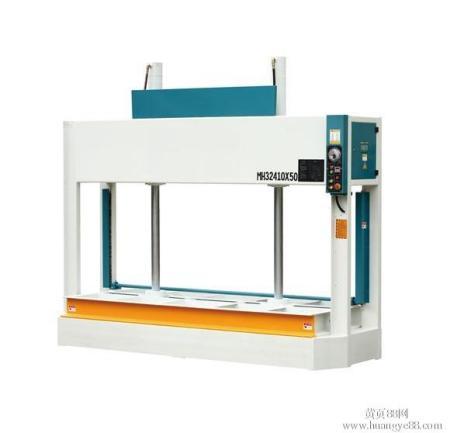 木工冷压机两支液压杆不平衡图片