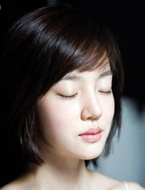 长发脸适合发型韩版高中生女中发型鸭梨图片