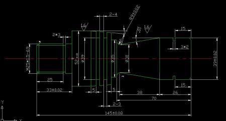 轴类零件数控车床编程(求大神)图片
