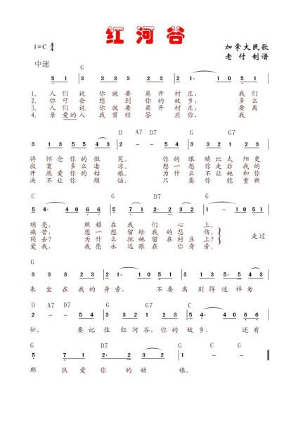 急需《红河谷》的吉他分解和弦的谱子 3 2011-11-18 小星星吉他谱,要图片
