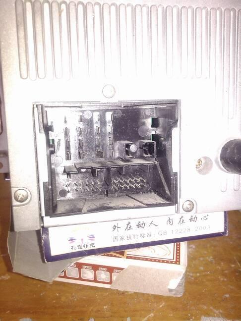福特汽车cd改家用怎么接线,哪里接电源,哪里接音箱高清图片