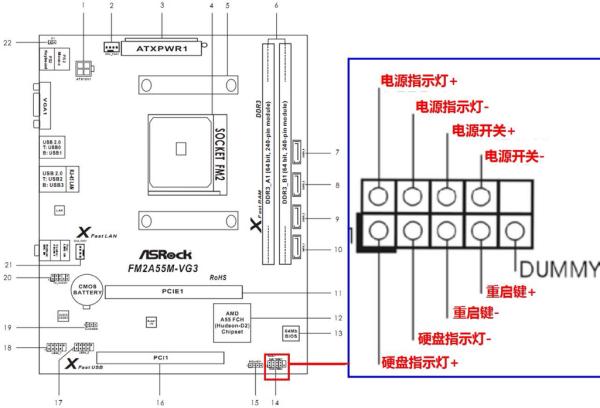 英特尔x58主板怎么接线 希望有图解图片