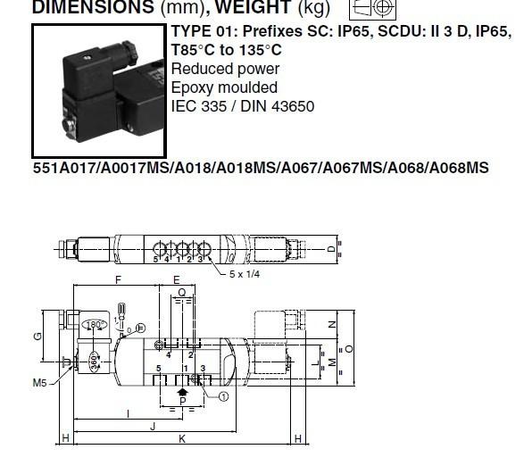 求3位5通电磁阀中封式的咧线图 要求中间停顿的那种图片