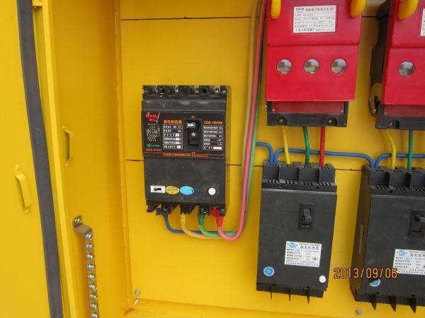 施工现场二级配电箱接线问题图片