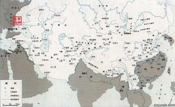 ... 苏联和成吉思汗建立的蒙古帝国,哪个疆域面积大