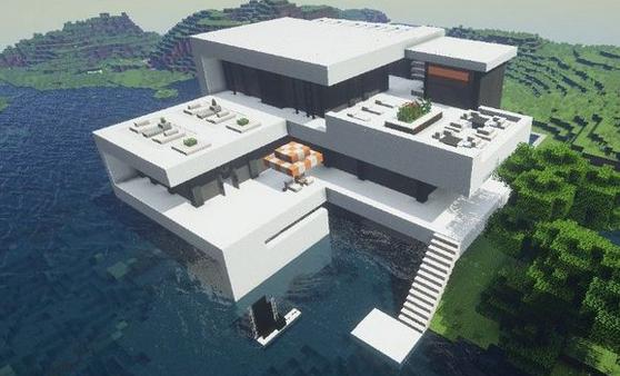 我的世界是石英别墅设计图