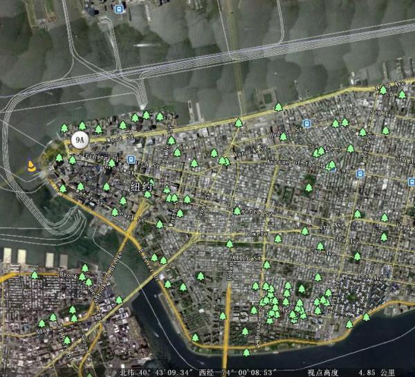 求助纽约市地图