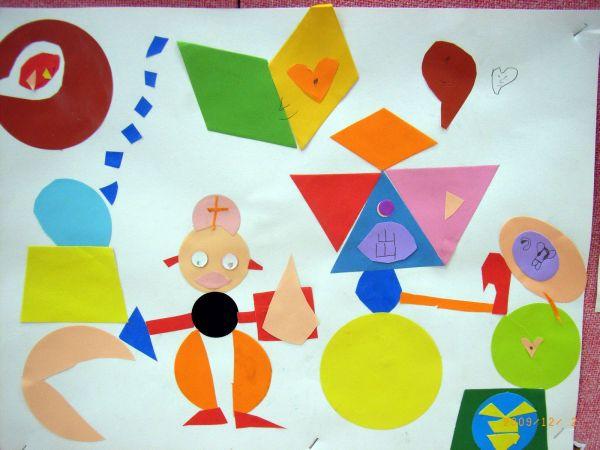 我要用找各种简单图形拼成的一幅画要有图的 百度作业帮