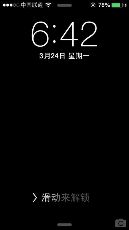 苹果5越狱后设置墙纸不显示了,锁屏界面设置动态壁纸才显示,桌面时钟图片