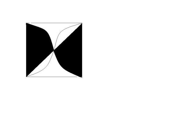 我看是个正方形,划分出4个三角形,就可以得到答案图片
