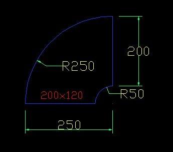谁能帮画一张90度风管弯头的CAD图纸,直径是