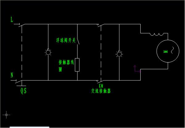 cjx2型交流接触器,通过浮球阀控制水箱水位补水图片