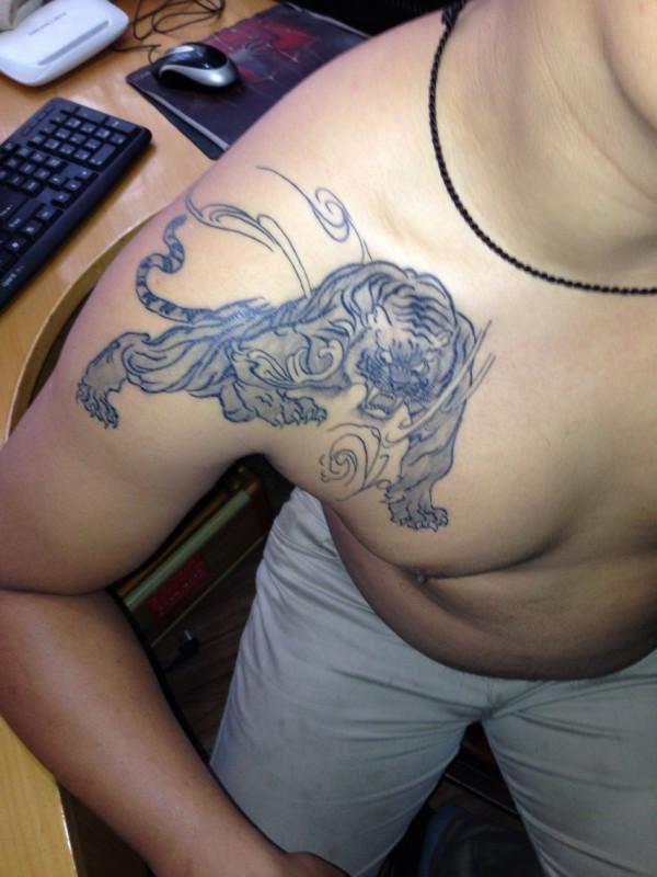 纹身修改_百度知道图片