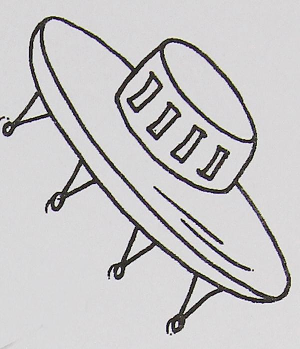 宇宙飞船简笔画