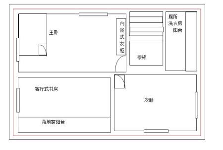 求农村90平方米俩层房屋设计图 希望各位高手帮帮忙图片