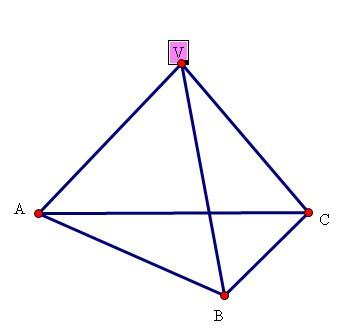 avb����_如图所示,正三凌锥v-abc的侧棱长为a,∠avb=90度,求它