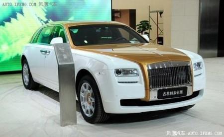 劳斯莱斯古斯特中国特别版 劳斯莱斯推中国版车型 高清图片