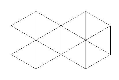 如图,是有12个正三角形组成的图案,问图中有多少个平行四边形?图片