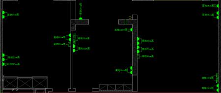 我想在房子装修的平面图中表示出电源开关和插座的 高清图片