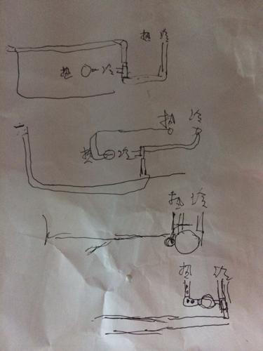 燃气热水器水管安装高度多少合适图片