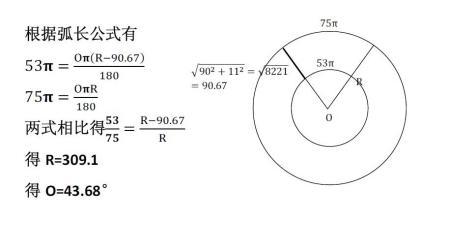 一个扇形的计算一个一次性纸杯图片